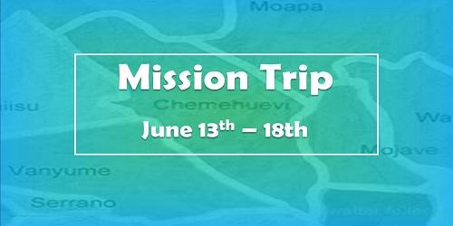 California Mission Trip-website
